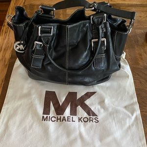 Michael Kors large crossbody tote